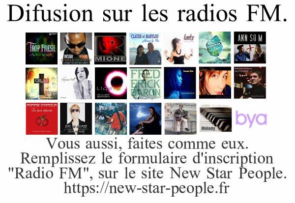 Diffusion sur les Radios FM