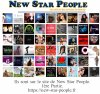 Artistes sur New Star People.