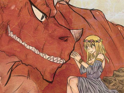 Os Nalu: Je suis amoureuse d'un dragon.