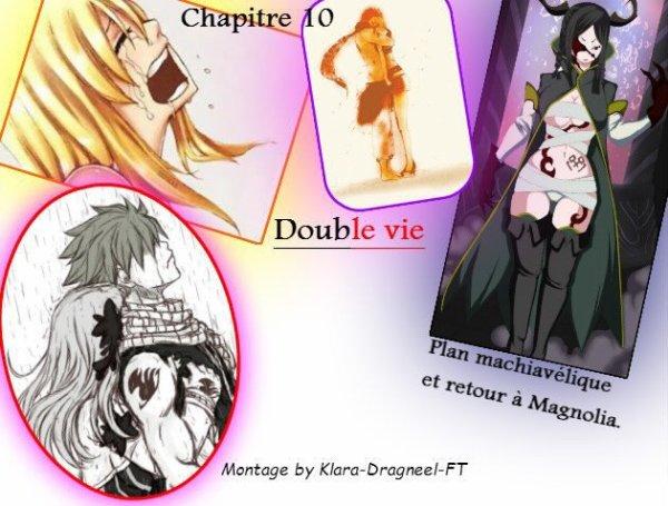 Double vie. Chapitre 10: Plan machiavélique et retour à Magnolia.