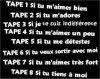 Tape ... ;$ !