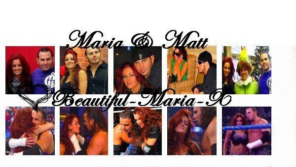 Maria & Matt Hardy