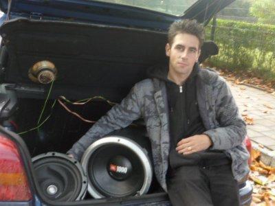 moi  et mon ancien vehicule