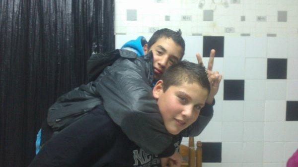 mwa et mon cousin