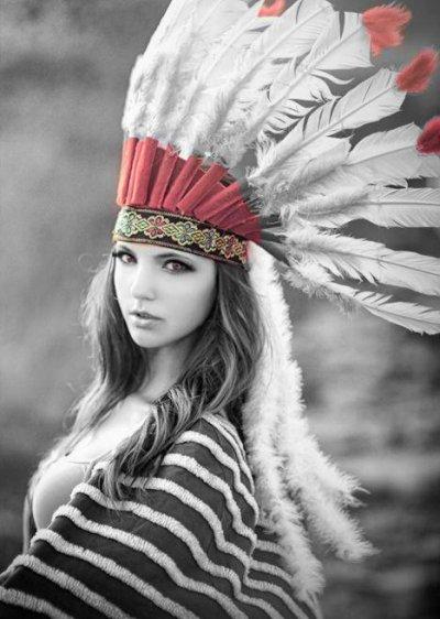 Une fille déguiser est forcément belle