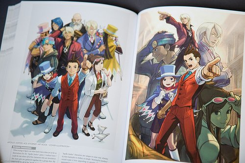 13 Juin:Artbook Phoenix Wright