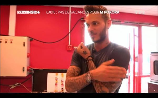 Capture Ecran - 50 Minutes Inside ( Pas De Vacances Pour M Pokora)