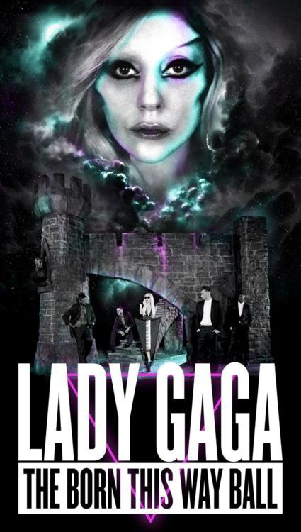 ~ Poster of The Born This Way Ball ~