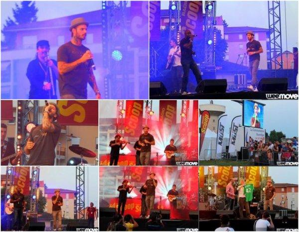 M Pokora - Scoop Musique Tour 2013