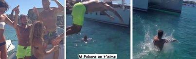 M Pokora en Corse