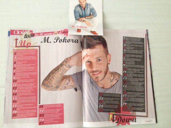 Magazines avec M. Pokora