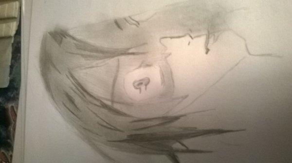 Mon premier dessins depuis longtemps