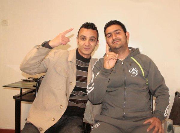 avec mon partenaire tarek