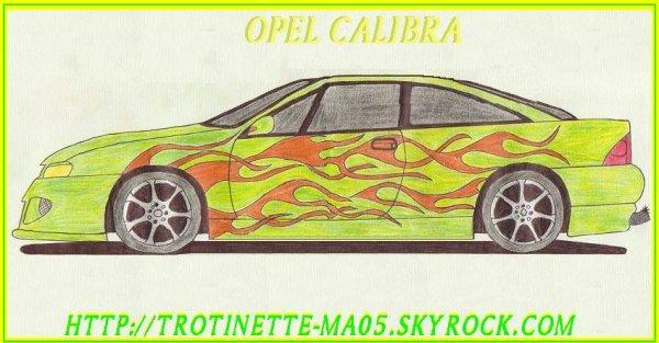Opel Calibra un vieux dessins
