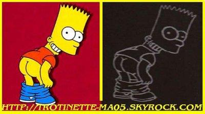 Gravure Bart Simpson