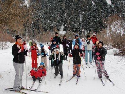 zdjecia z wyprawy na narty juz na Picasie