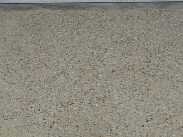 Beton desactive couleur sable blog de couzicenvironnement Beton de couleur