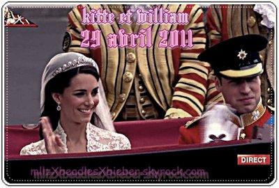 Le mariage tant attendus