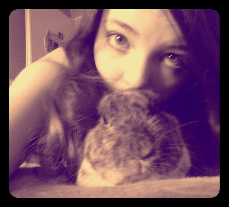 Mon lapinet et moi