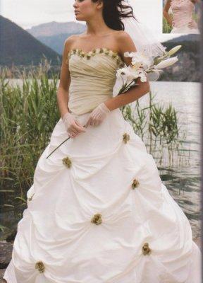 robe de mariee theme nature