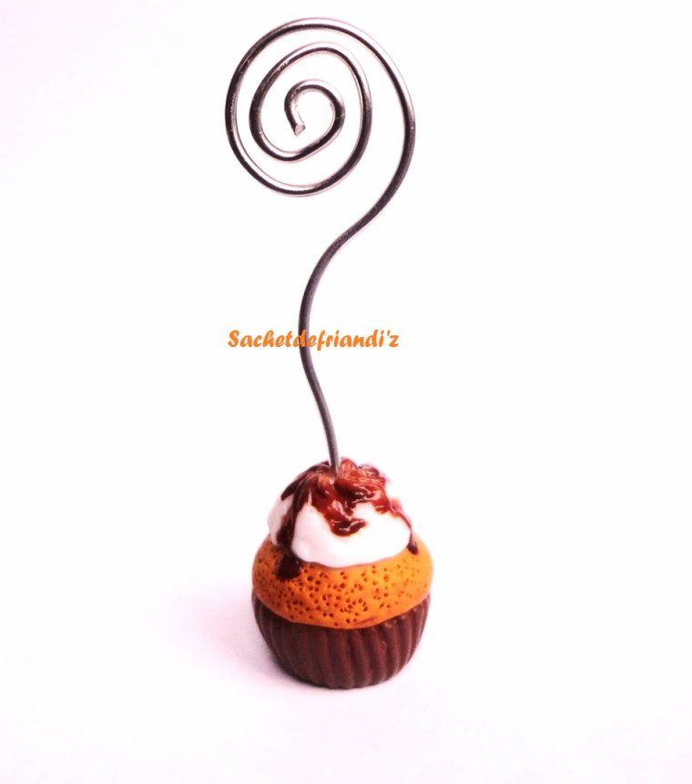 Porte-photo Cupcake