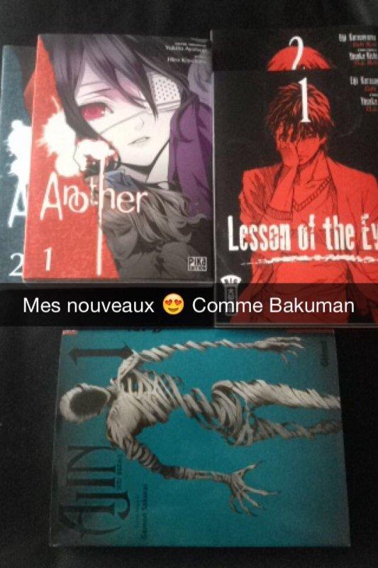 #Mangas nouveaux