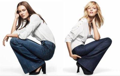 le jean flare selon Gap