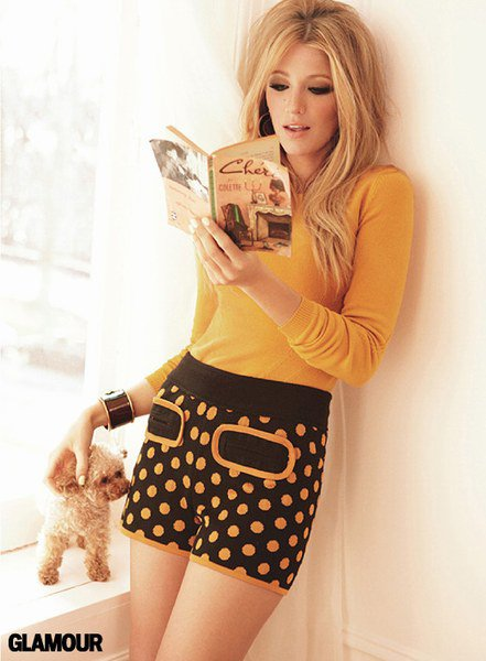 "Blake Lively, icône 60's pour ""Glamour"" !"