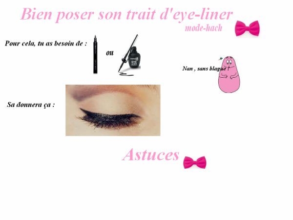 Bien tracer son trait d'eye-liner