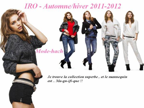 IRO - Automne/hiver 2011-2012
