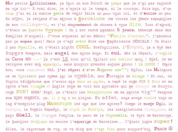 ____________________..+. Rubrique Journal .+.. .LoL' Le 19.04.2011 LoL'. ....................