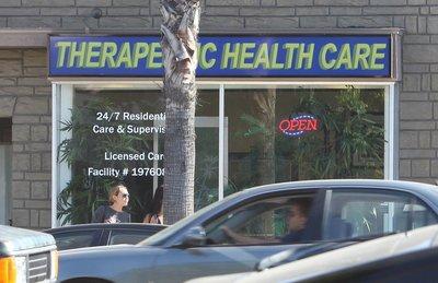 23/02 Départ Un dispensaire médical de la marijuana à Los Angeles