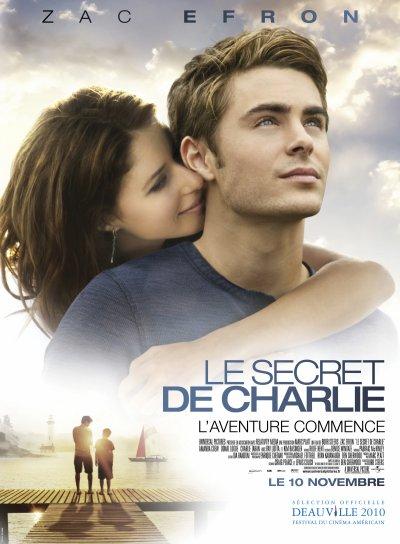 Le secret de Charlie : avec Zac Efron le 10 novembre au cinéma
