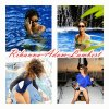 Rihanna en vacances 2012