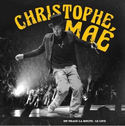 pochette de l'album live de Christophe Maé