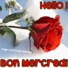 Bon mercredi à vous mes amies