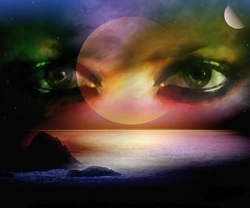 Pour vous mes amies ce poeme est un hommage à vos jolis yeux qui embellissent vos blogs