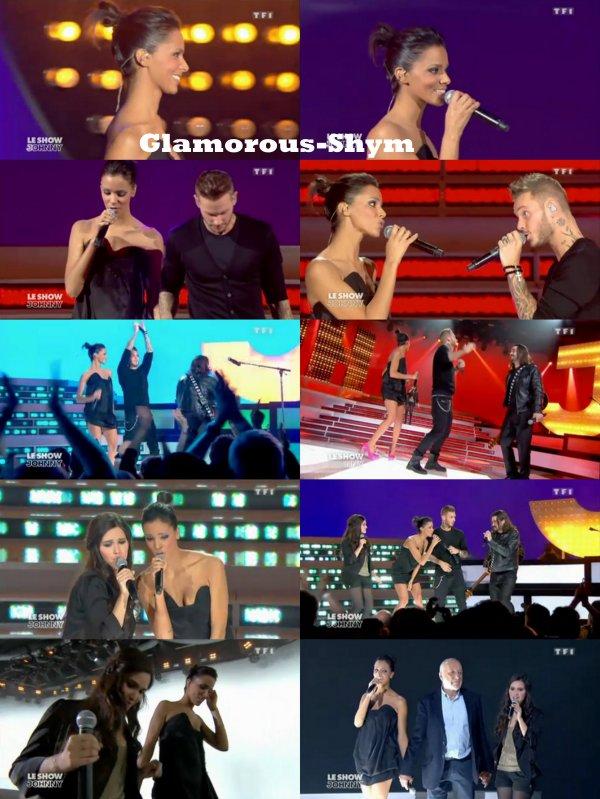 """Shy'm dans """"Le Show de Johnny"""" le 26 Mars sur TF1 !"""