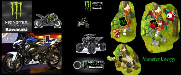 Je vous explique ici pourquoi --MONSTER--ENERGY-- (!) Voila tout simplement FAN de moto depuis toute petite