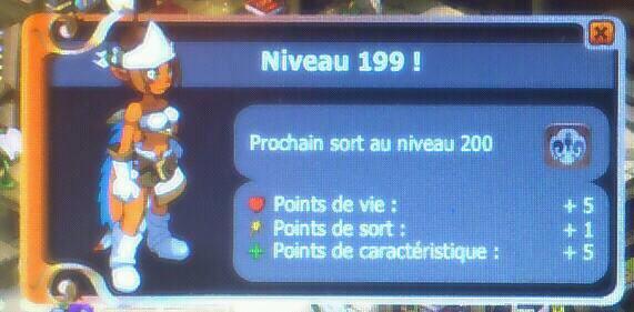 J'avais hâte d'être 199 quand notre guilde aurait 1 mois :-) c'est réussi :-)