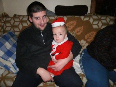 mon homme avec mon fils