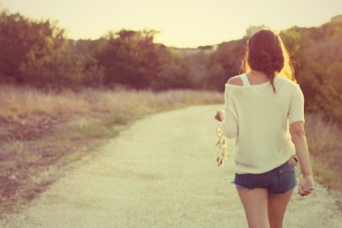 Walking = freedom. ♥