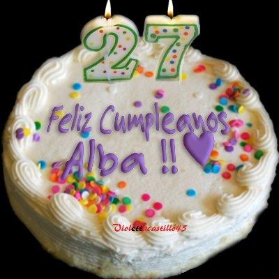 Pour l'anniversaire d'Alba Rico Navarro