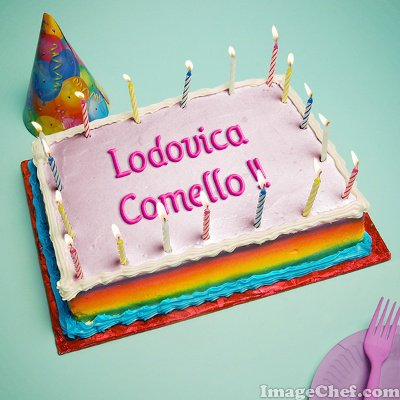 Joyeux Anniversaire Lodovica Comello !!!