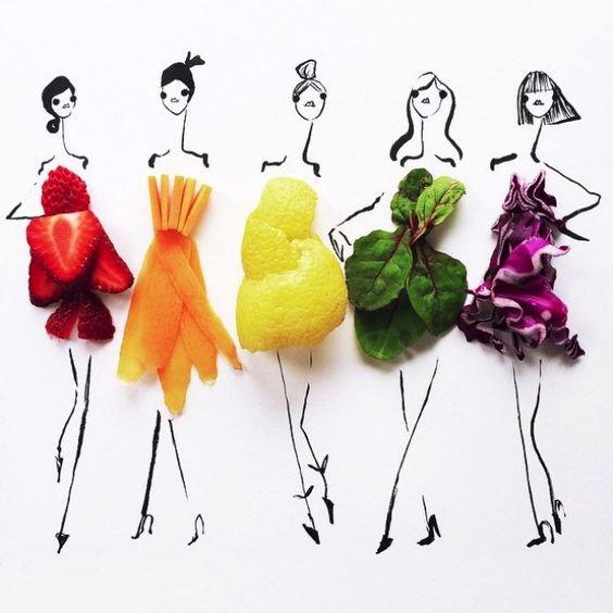 Ce que l'on peut faire avec des fruits et légumes