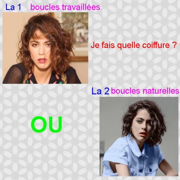 Ma coiffure et mes bijoux pour Paris ? A vous de choisir ! ;)