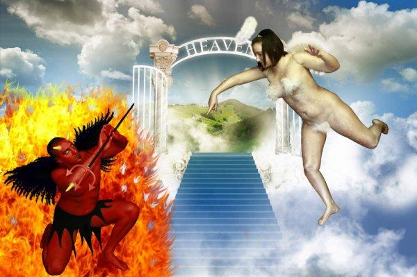 ange et démon  avec aurélie et dimitri