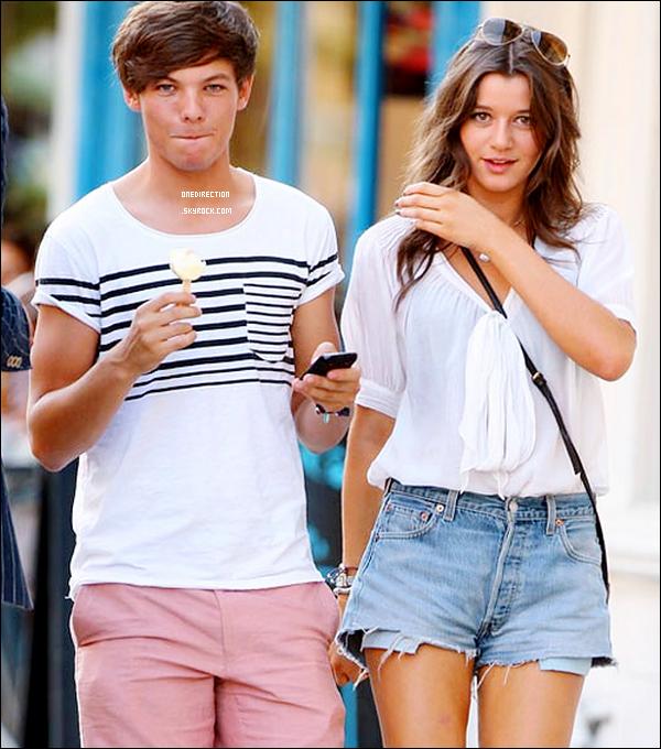 •  Date inconnu  – : Louis et une certaine Eleanor Calder ont été aperçus se promenant                        dans un parc à Londres.