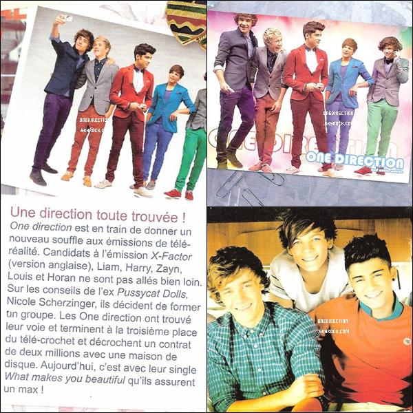"""Voici les scans du magazine """"Trinity Stars"""" du mois d'octobre où il y'a un petit article, un poster et une carte.  Un grand merci à LittleRed-fiction pour les scans.  :)"""