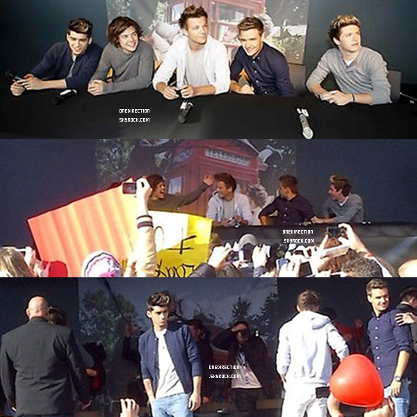 22/09 : La suite des photos et quelques vidéos du groupe à Cologne, en Allemagne.
